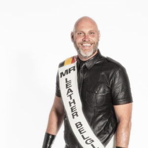 portrait of Georges Peeters: Mister Leather Belgium 2016
